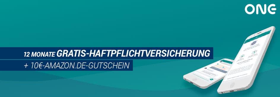 Gratis-Haftpflichtversicherung + 10€-Amazon.de-Gutschein