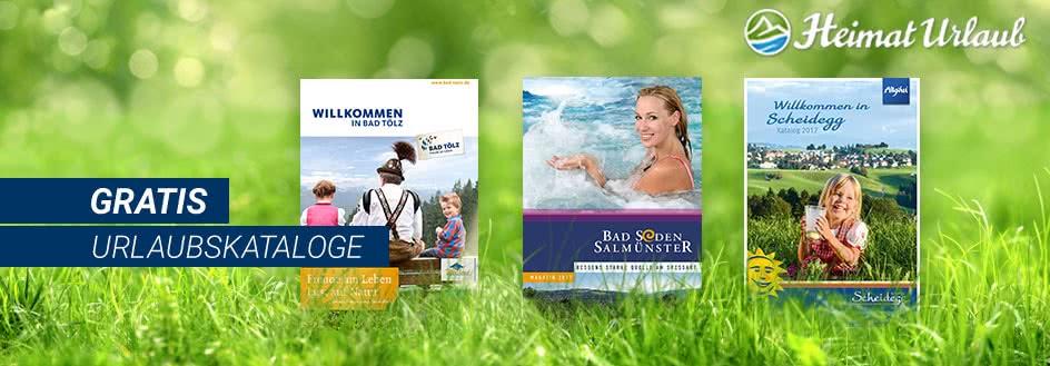 Urlaubs-Kataloge