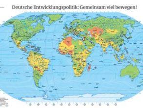 Gratis-Weltkarte (138 x 98 cm) versandkostenfrei bestellen