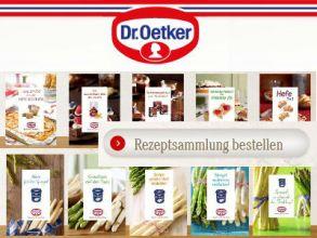 Dr. Oetker Rezeptsammlung gratis bestellen oder ausdrucken