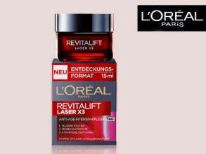 100.000 Gratisproben L'Oréal Paris Revitalift Laser X3 (2ml)