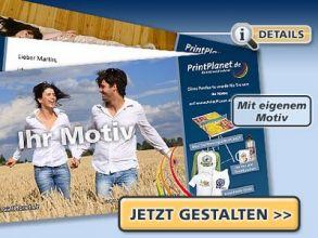Gratis-Postkarte gestalten und versandkostenfrei versenden