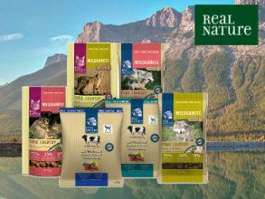 Gratisprobe Real Nature Tierfutter