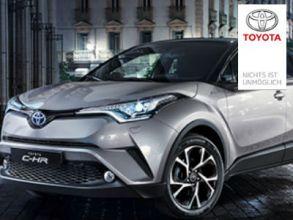 """1 von 10 """"Toyota C-HR""""-Probefahrten in Spanien gewinnen!"""