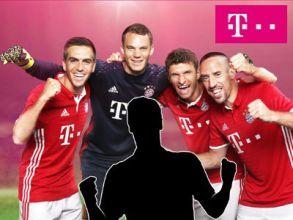 Telekom-Gewinnspiel:  FC Bayern München Spiel + Treffen