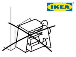 IKEA-Kippschutz für Kommoden kostenlos bestellen