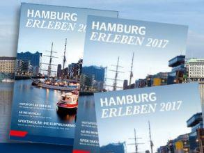 """Reisemagazin """"Hamburg erleben 2017"""" gratis bestellen!"""