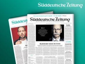"""""""Süddeutsche Zeitung"""" 2 Wochen GRATIS"""