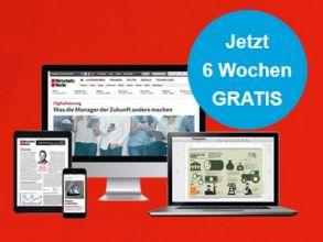 """""""Wirtschaftswoche Digitalpass"""" 6 Wochen kostenlos"""