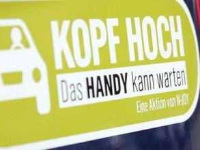 "Auto-Aufkleber ""Kopf hoch"" gratis bestellen"