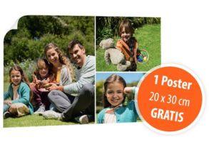 Poster 20 x 30 cm gratis bei Drogerie Müller!