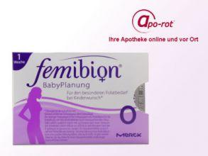 "Gratisprobe ""femibion"": Mikronährstoffe bei Kinderwunsch"