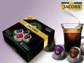 Gratis Probierset: Jacobs Nespresso-Kaffeekapseln