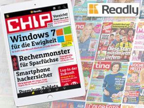 """CHIP"" digital 1 Monat gratis lesen!"