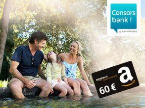 60€ geschenkt zum kostenlosen Consorsbank-Tagesgeldkonto