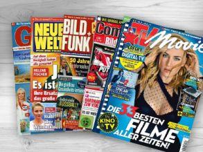 1 von 13 Zeitschriften-Jahresabos gratis bestellen!