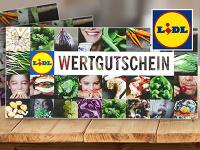 Lidl-Gewinnspiel: 1 von 5 Lidl-Wertgutscheinen über 100€