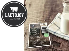 Gratis Laktase-Tabletten von LactoJoy