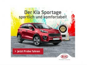 Kostenlose Probefahrt des KIA Sportage QL 2018