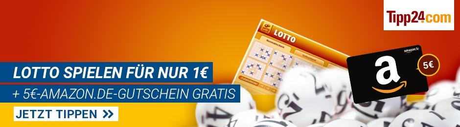Lotto spielen: 1€ statt 6,50€