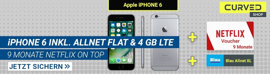 iPhone 6 inkl. Allnet Flat