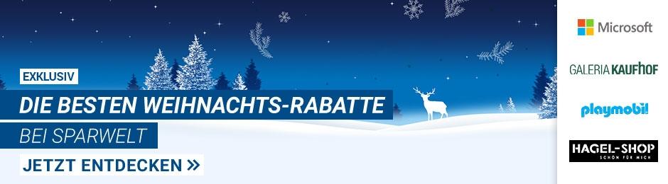 Die besten Weihnachts-Rabatte