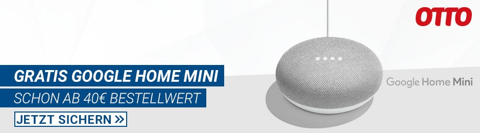 OTTO: Google Home Mini gratis