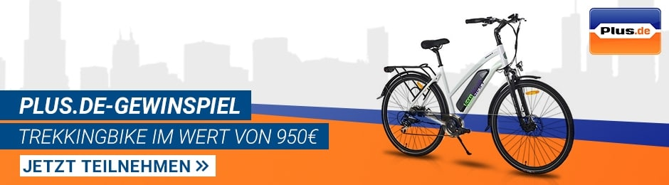 Plus.de-Gewinnspiel: Trekkingbike im Wert von 950€