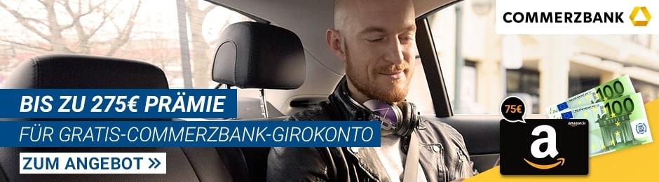 Kostenloses Girokonto bei Commerzbank