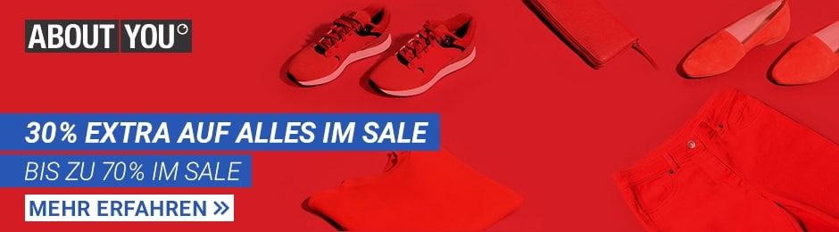 30% Rabatt auf alles im Sale