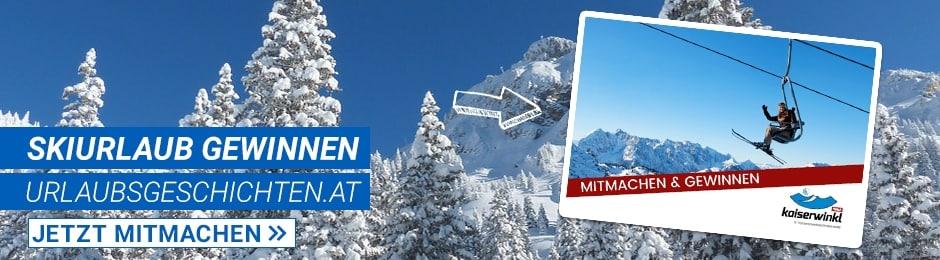 Gewinne einen Skiurlaub für 2