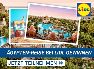 Lidl: Ägypten-Gewinnspiel