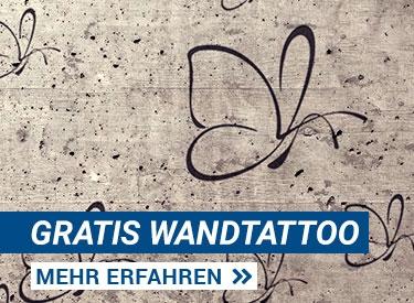 Gratis Wandtattoo