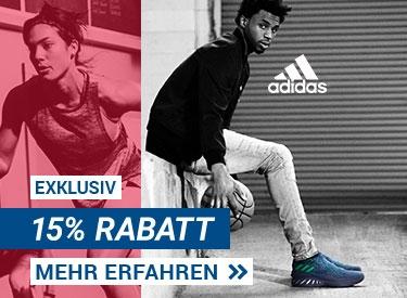 15%-Gutschein bei adidas