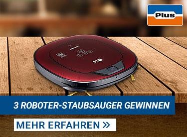 Roboter-Staubsauger gewinnen!