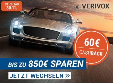 Verivox: 60€ Cashback beim Wechsel