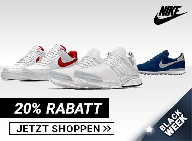 20% Rabatt bei Nike