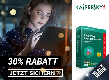 30% Rabatt bei Kaspersky