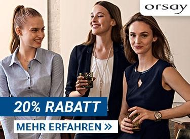 20%-Gutschein bei Orsay