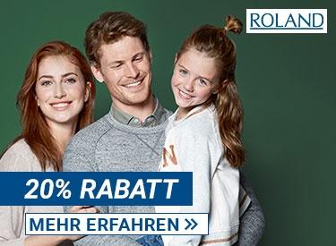 20%-Gutschein bei Roland
