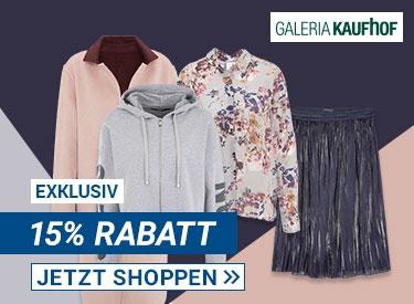 15%-Rabatt bei GALERIA Kaufhof