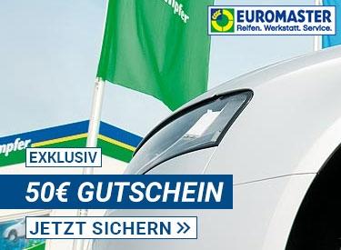 50€ Gutschein bei EUROMASTER