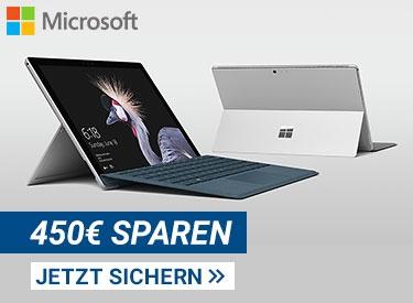 450€ sparen bei Microsoft