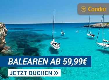 Balearen-Flüge ab 59,99€