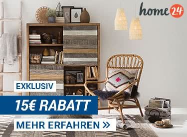 15€ Rabatt bei home24