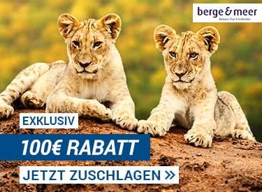 100€ Rabatt bei Berge & Meer