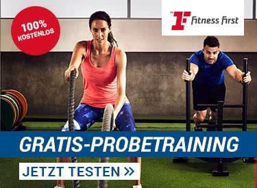 Gratis Probetraining bei Fitness First
