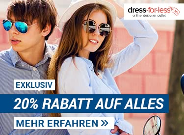 20% bei dress-for-less