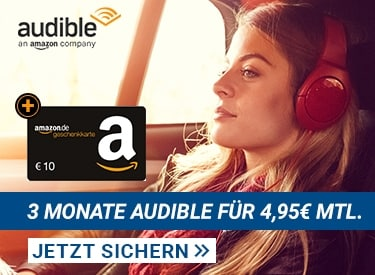 3 Monate Audible für 4,95€ mtl.