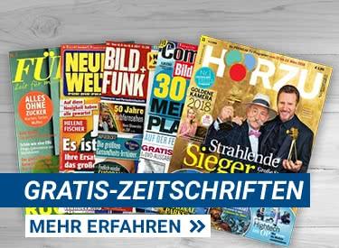 Zeitschriften-Jahresabos gratis bestellen
